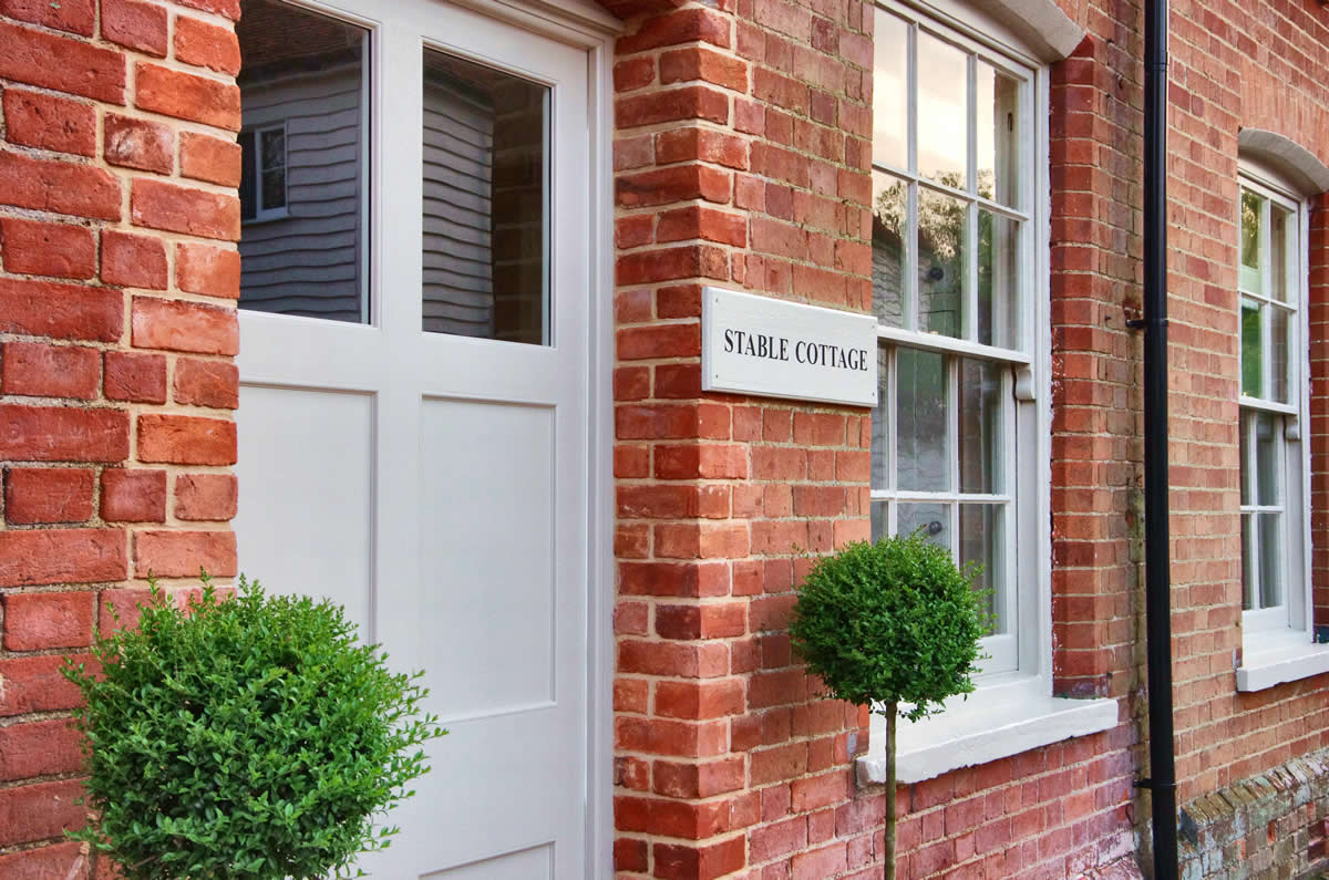 Stable Cottage Door - Blake Hall Wedding Venue, Ongar, Essex