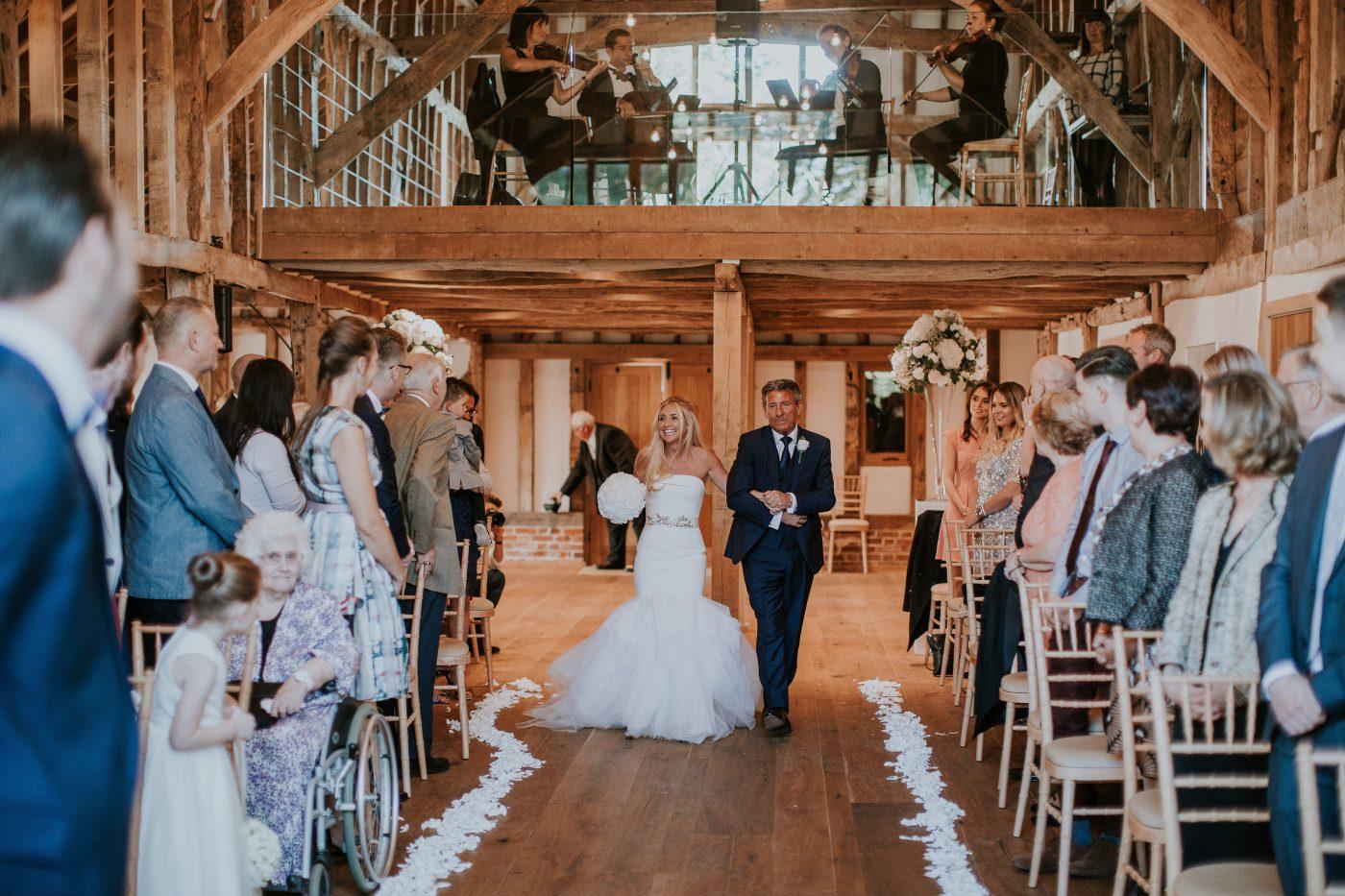 The Hay Barn At Blake Hall Wedding Venue Ongar Essex